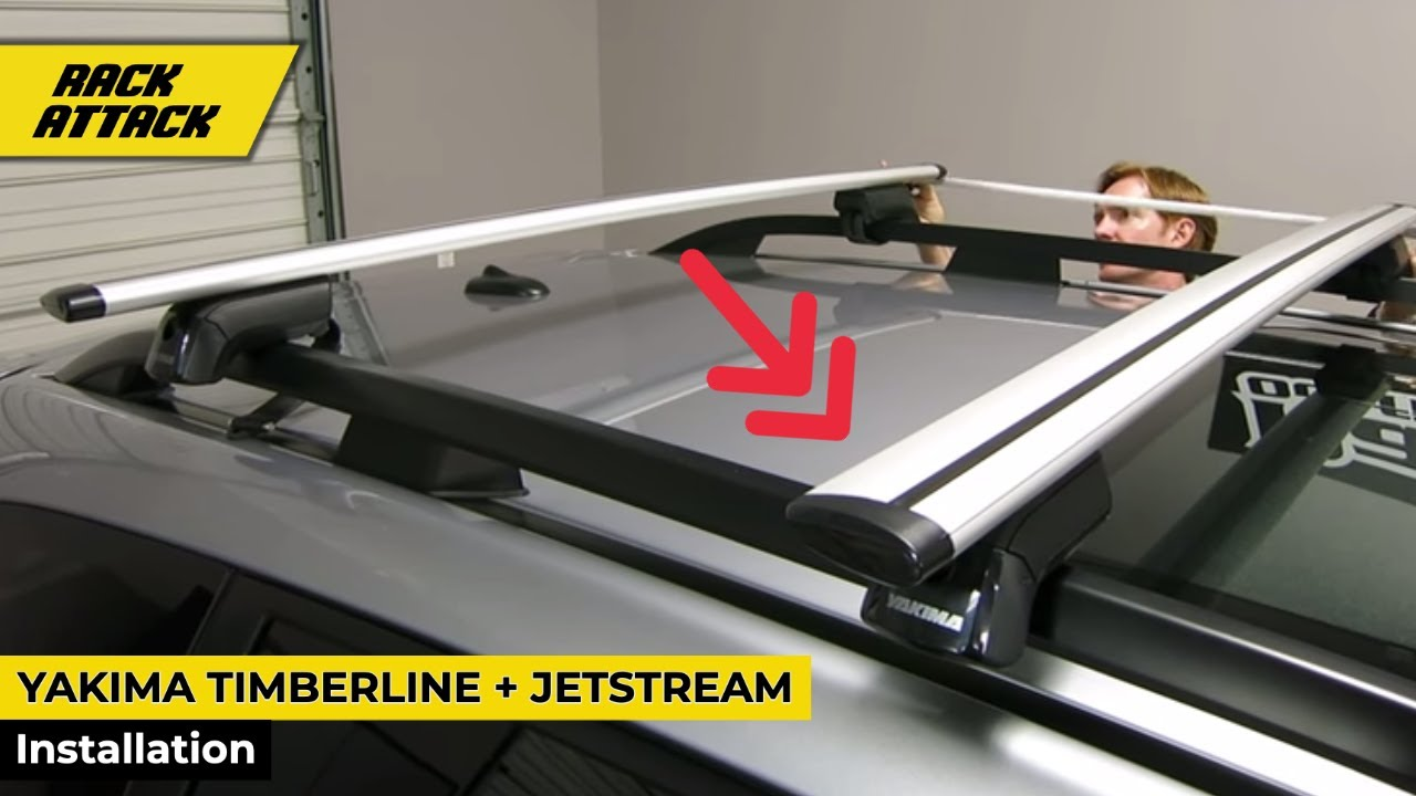 Yakima Timberline Jetstream Bar Base Roof Rack Install And