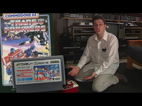 Transformers - Famicom - Angry Video Game Nerd - Episode 72
