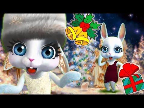 Zoobe Зайка С Рождеством! - Как поздравить с Днем Рождения