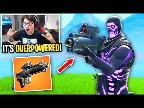 I can ONLY win using the Proximity Grenade Launcher in Fortnite...