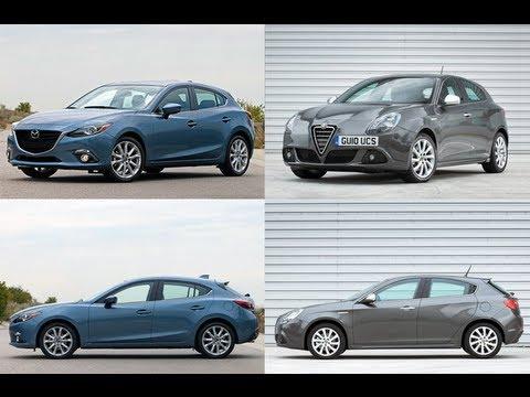 2014 Mazda3 Vs Giulietta Youtube