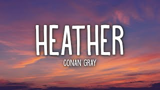 Conan Gray - Heather (Lyrics) Images