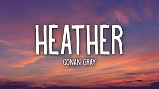 Download Conan Gray - Heather (Lyrics)