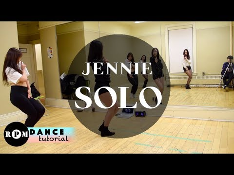 "Jennie ""Solo"" Dance Tutorial (Chorus, Breakdown)"