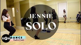 "Jennie ""Solo"" Dance Tutorial (Chorus, Breakdown)"