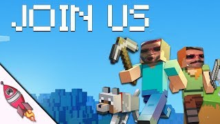Minecraft Stream | Play with Us! | Build a Building for our Music Video! | Rockit Gaming 2
