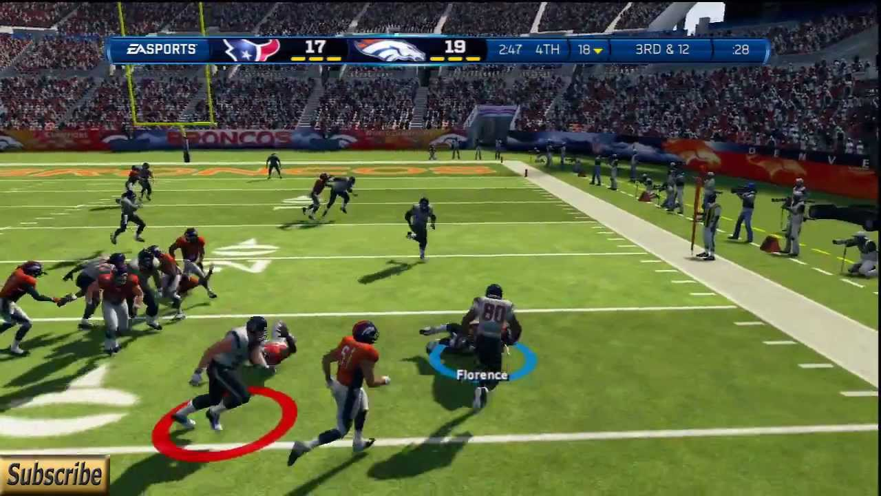 Madden 13-UGLIEST game of the Year-Broncos Vs Texans