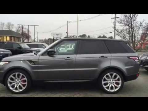 2016 Range Rover Sport Supercharged Dynamic