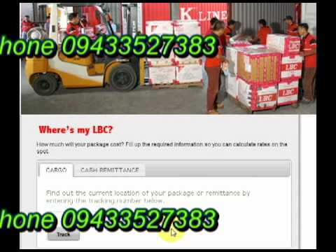 How to View LBC Delivery Status of Package Online Using Tracking Number