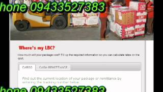 How to View LBC Delivery Status of Package Online Using Tracking ...