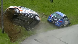 Vid�o Crash C2 n�33 vs 206 n�29 Rallye du Beaufortain 2015 par Ouhla lui (1661 vues)