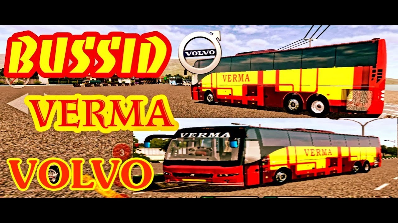 VERMA VOLVO FOR BUS SIMULATOR INDONESIA🇮🇳 - T S GAMING ZONE
