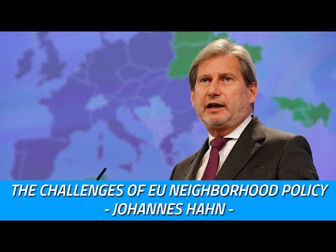 The Challenges of EU Neighborhood Policy - At the table with Johannes Hahn