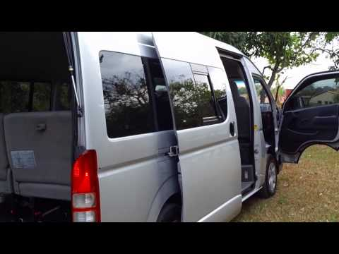 TOYOTA HIACE 2008 MANUAL 3.0