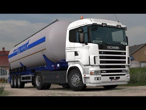 ETS2 1.28 ProMods 2.20 Scania 114L Erfurt - München