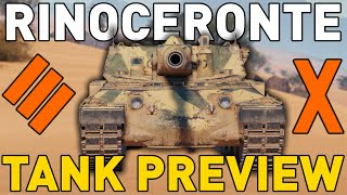 Rinoceronte - Tank Preview - World of Tanks