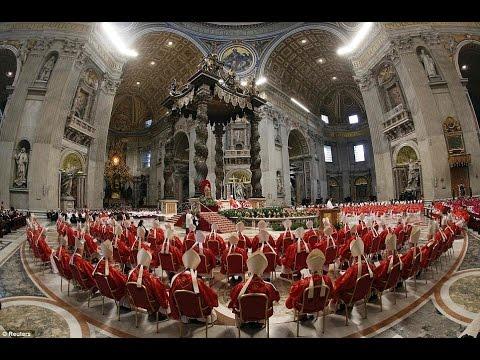Vatican Invocing Lucifer During Easter Vigil Mass 4-5-2015