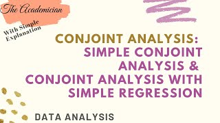 [daxx] Conjoint Analysis With Simple Example