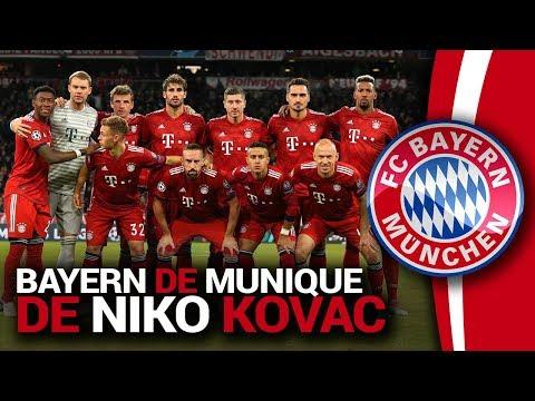 Bayern de Munique de Niko Kovac 2018/2019 - Análise Tática de Futebol
