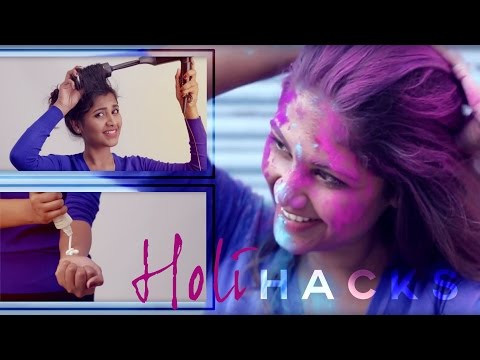 8 Useful Beauty Hacks For Holi Every Girl Needs To Know | Makeup, Hair And Skin Care Routine