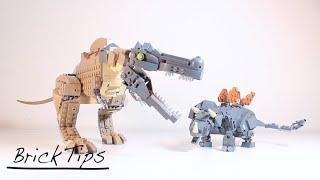 BrickTips: Making LEGO Dinosaurs!