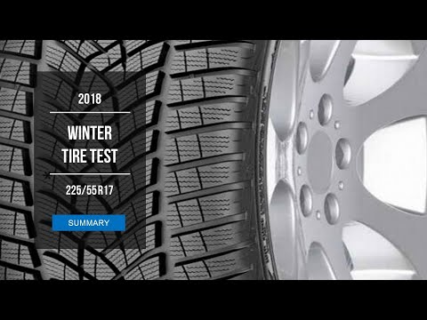 2018 Winter Tire Test Results 225 55 R17 Youtube