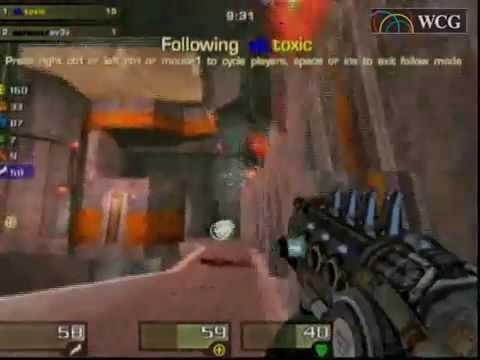 2006 Grand Final cyberspace 1: Quake 4 match: Toxic(SWE) vs av3k(POL)_2Set  