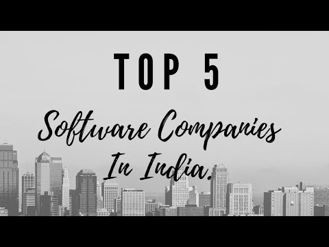 Software Companies    Which are in Top 5    2019  India