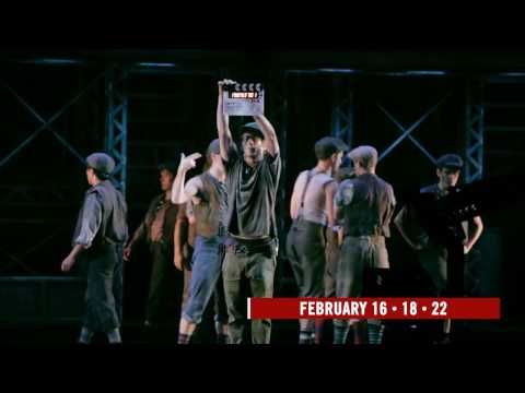 Making Of The NEWSIES Movie Event: Lights. Camera. Action.