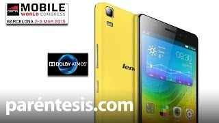 #MWC2015: Lenovo A7000, el celular con sonido envolvente