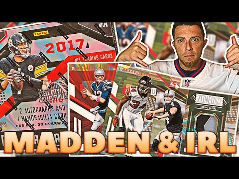 IRL Pack Opening, Madden & Giveaways