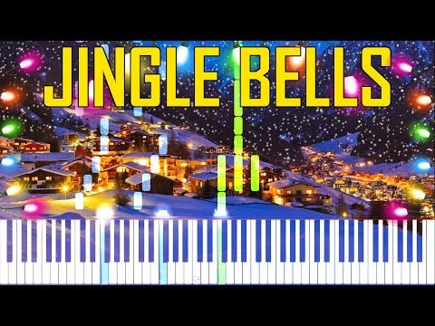 Jingle Bells - Christmas Song [Synthesia Piano Tutorial]