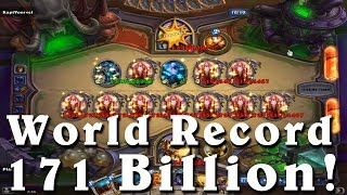 Hearthstone: 171 Billion Damage World Record -Largest spell hit ever
