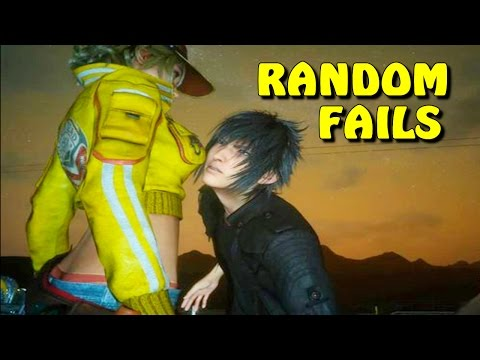 FINAL FANTASY XV RANDOM MOMENTS