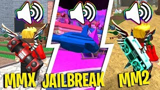 PLAYING MY INTRO MUSIC IN POPULAR ROBLOX GAMES!! (Roblox Songs)