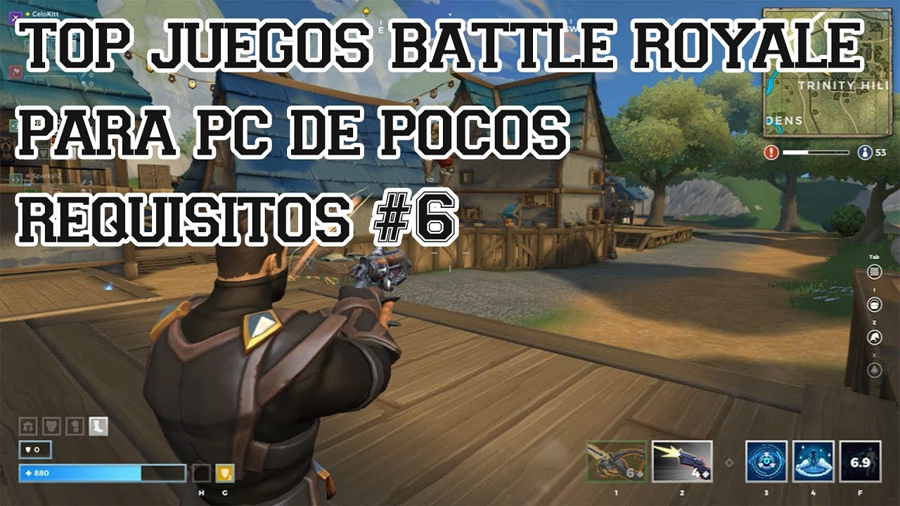 Top Juegos Battle Royale Para Pc De Pocos Requisitos 6 Youtube