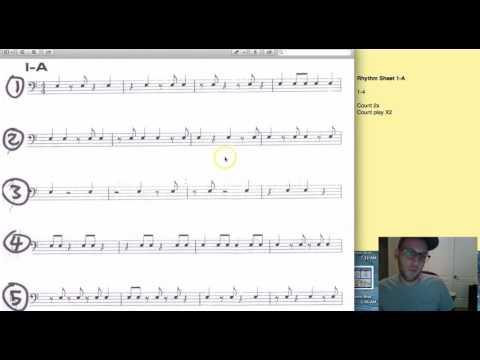 Rhythm Class Lesson 4 worksheet 1 A