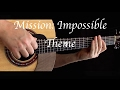 Mission Impossible Theme Fingerstyle Guitar mp3