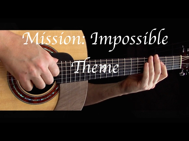 Mission: Impossible Theme - Fingerstyle Guitar Chords - Chordify