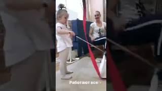 Инночка тоже тренируется|Александра Солдатова
