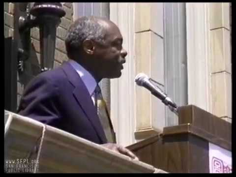 1996 Chinatown Branch Library Opening at San Francisco Public Library