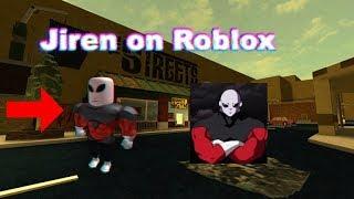 Roblox Jiren spielt die Straßen