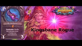 HEARTHSTONE KINGSBANE ROGUE THE BOOMSDAY PROJECT