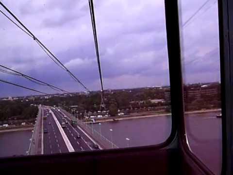 Cologne cable car (Kölner Seilbahn) trip