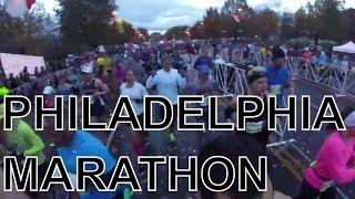 2017 Philadelphia Marathon First Person Run Vlog