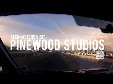 Slenky Visit Pinewood Studios