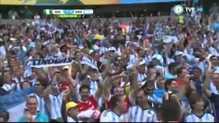 argentina 3 nigeria 2 mundial brasil 2014 tv publica sebastian vignolo