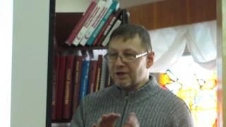 Михаил Елькин на 3-м собрании первоуральского филиала УИРО