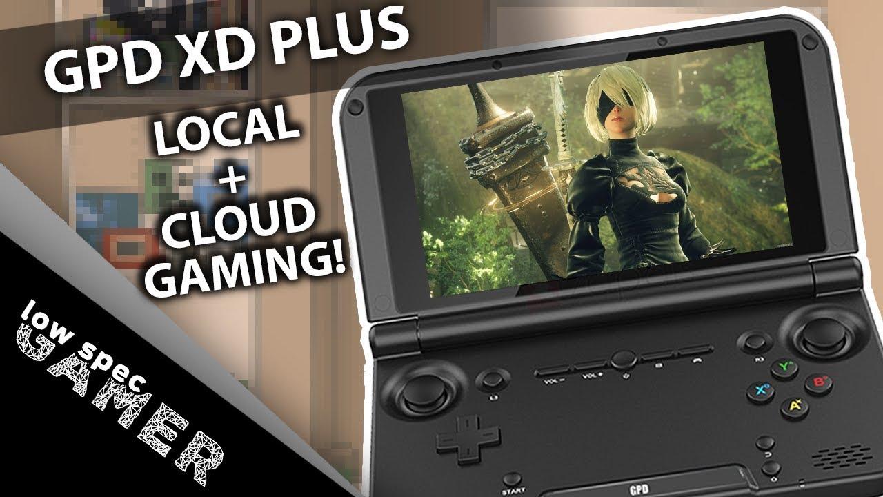 Best Cloud Gaming Handheld? GPD XD Plus review!