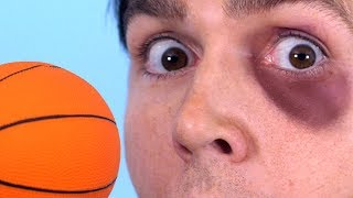 Toy Ball Knocks Eye